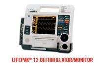 The LIFEPAK 12 Defibrillator/Monitor